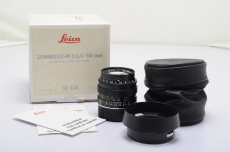 Leica Summilux-M 50mm f/1.4 Ver.2, Black