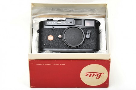 Leica M4-P Repainted with Brass Plate   9days Photo & Camera