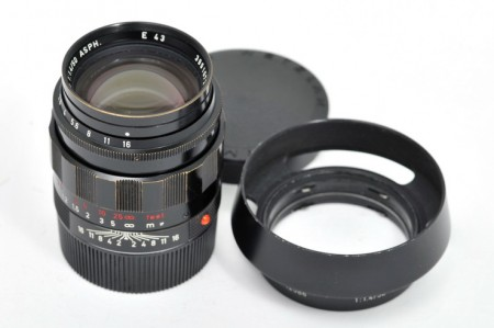Leica Summilux-M 50mm f/1.4 ASPH LHSA MP-3 Black Paint