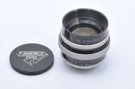 Angenieux 50mm f/1.5 Type S21 modified to Leica M