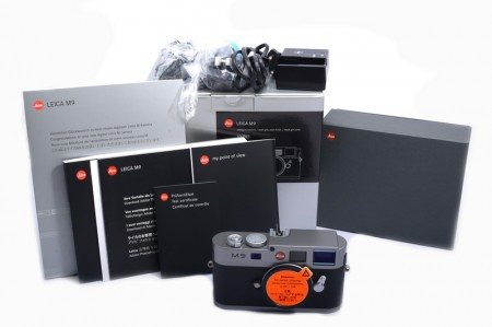 Leica M9, Steel Grey (New CCD Replaced)