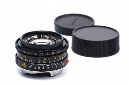 Leica Summicron-M 35mm f/2 Ver.4, Black 7-element Canada