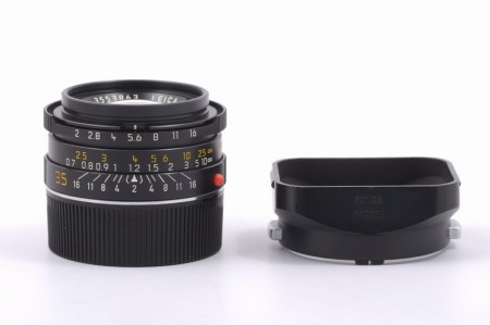 Leica Summicron-M 35mm f/2 Ver.4, Black 7-element Germany
