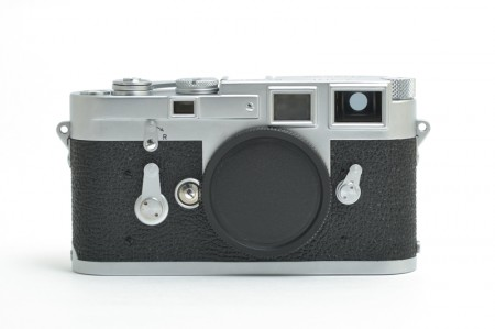 Leica M3 Camera Double Stroke Metal Plate