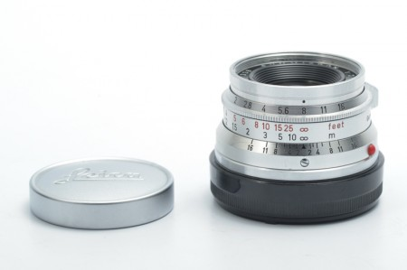 Leica Summicron-M 35mm f/2 Ver.1 Silver 8-element Germany