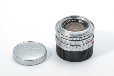 Leica Summicron-M 35mm f/2 Ver.4, Silver 7-element Germany