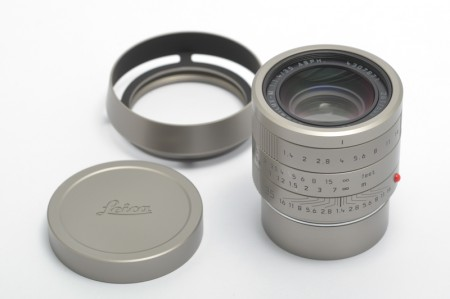 Leica Summilux-M 35mm f/1.4 ASPH FLE, Stainless Steel