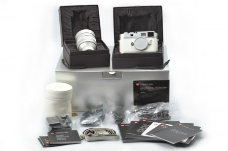 Leica M9-P Camera White Edition with Noctilux-M 50mm f/0.95 (New CCD Replaced)