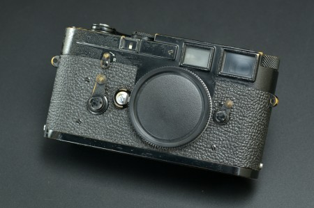 Leica M3 Camera Original Black Paint