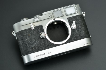 Leica MP Silver (modified from M3/M2) + Leicavit MP original